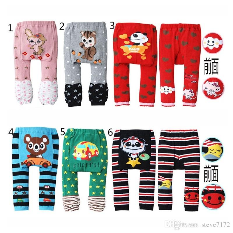Character Baby PP Pants Busha Leggings Elastic Waist Baby Trouser Diaper Cover Fashion Tights Underpants Free Shipping