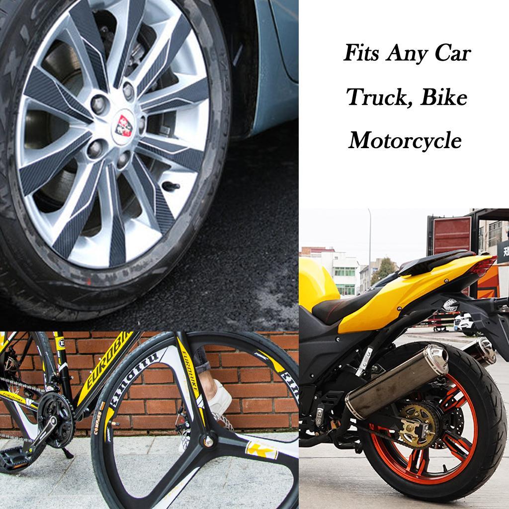 New Auto Car Bike Bicycle Wheel Tires Stem Valve Caps Black Dice Motorcycle USA