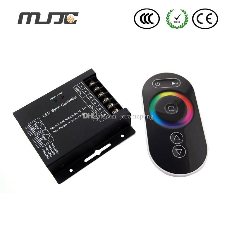 Wholesale Promotion 1pcs 12V-24V MR16 Spotlight Wireless Single Color RF Remote Control LED Light Dimmer Controller