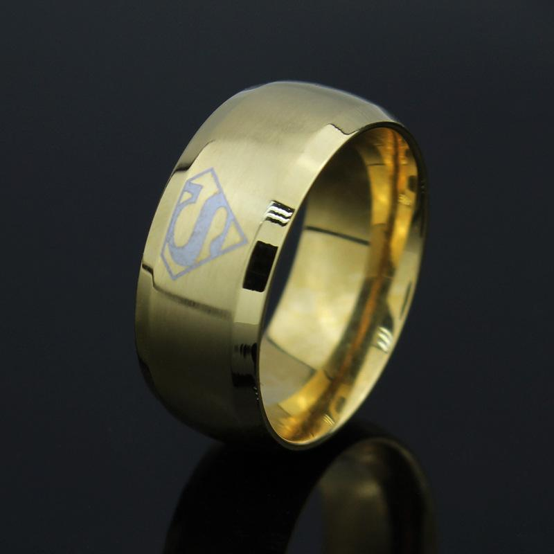 superman s logo ring justice league of america jla black