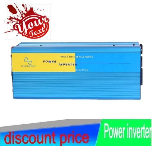 Frete grátis 2500 W OFF Grid Tie Power Inverter 50Hz Para Painel Solar Sistema de Turbina Eólica
