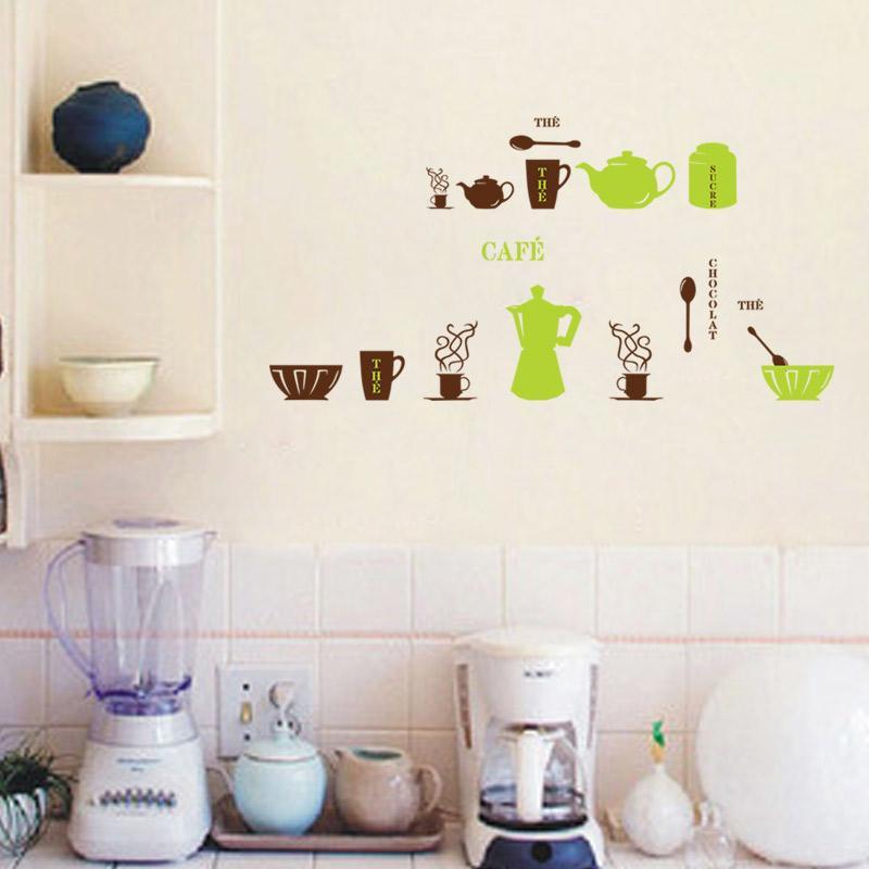 Kitchen wall sticker decor
