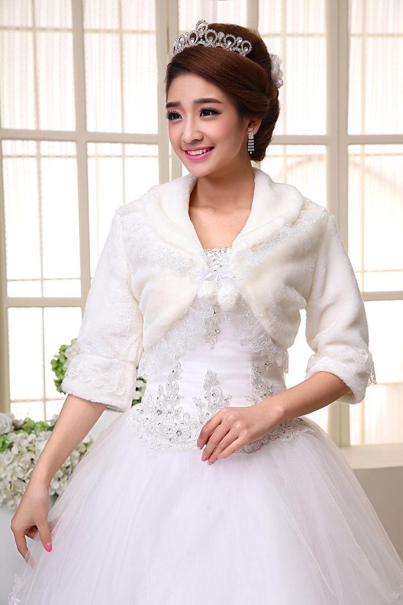 Großhandel 2015 Best-Selling-Spitze Jacken für Hochzeitskleider ...