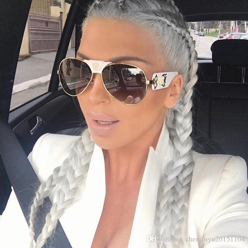 Aloz mic ماركة كلاسيك الأسود الطيار نظارات للرجال مصمم الفاخرة القيادة نظارات الشمس للنساء ظلال نظارات oculos uv400 a050