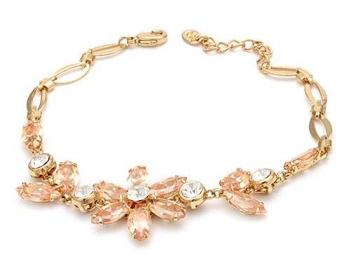 champange diamond flower женский браслет ( myyhmz)