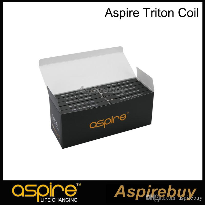 Aspire Triton Coil Replacement Coil with Japanese Organic Cotton 0.3 0.4 1.8 ohm RBA Coil For Aspire Triton Tank Authentic
