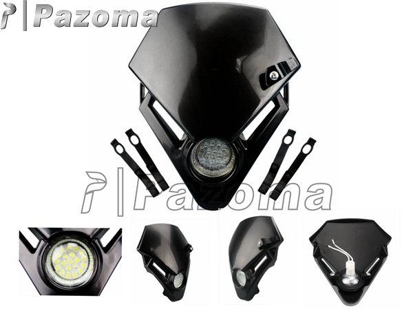 pazoma moto auto leds puissance phare similaires avec lumi re head for gasgas txt pro 280 125. Black Bedroom Furniture Sets. Home Design Ideas