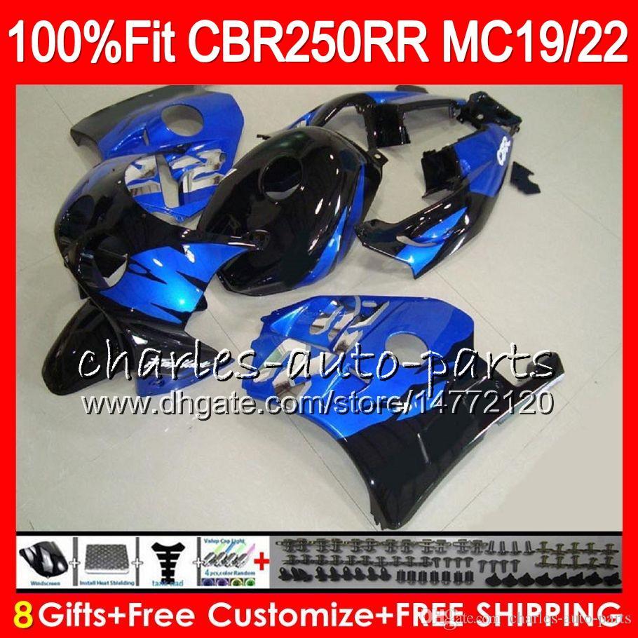 Iniezione per HONDA CBR 250RR CBR250RR 88 89 90 91 92 93 96HM19 MC19 MC22 250 CBR250 RR 1988 1989 1990 1991 1992 1993 Carena