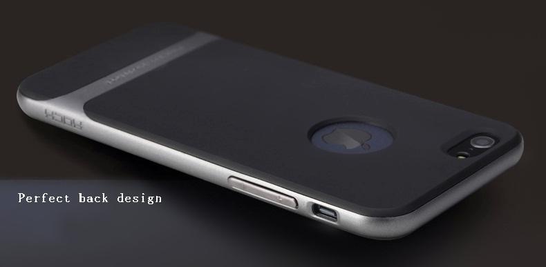 Yeni stil Çift Katmanlı Ultra Ince İnce Hybird PC + TPU Kılıf Apple iphone6 Için Vintage Cep Telefonu Sert Arka Kapak iphone 6 s