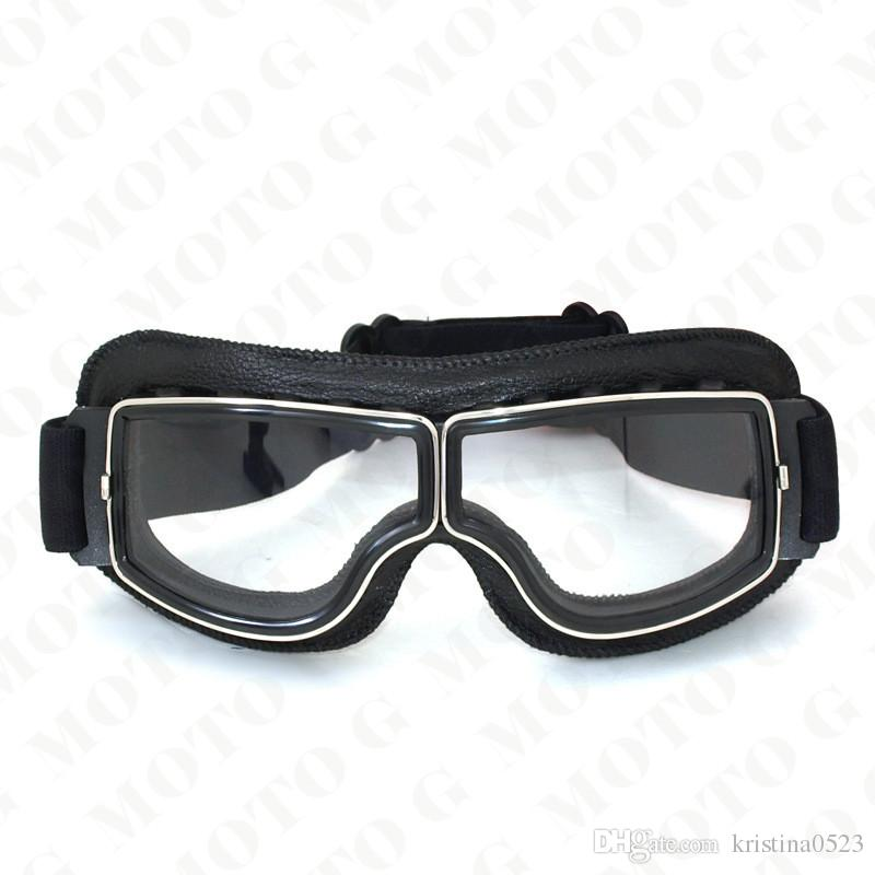 2017 NEW arrival Universal Scooter Goggles Pilot Motorcycle Goggles Retro Jet Helmet Eyewear Aviator Goggles T13