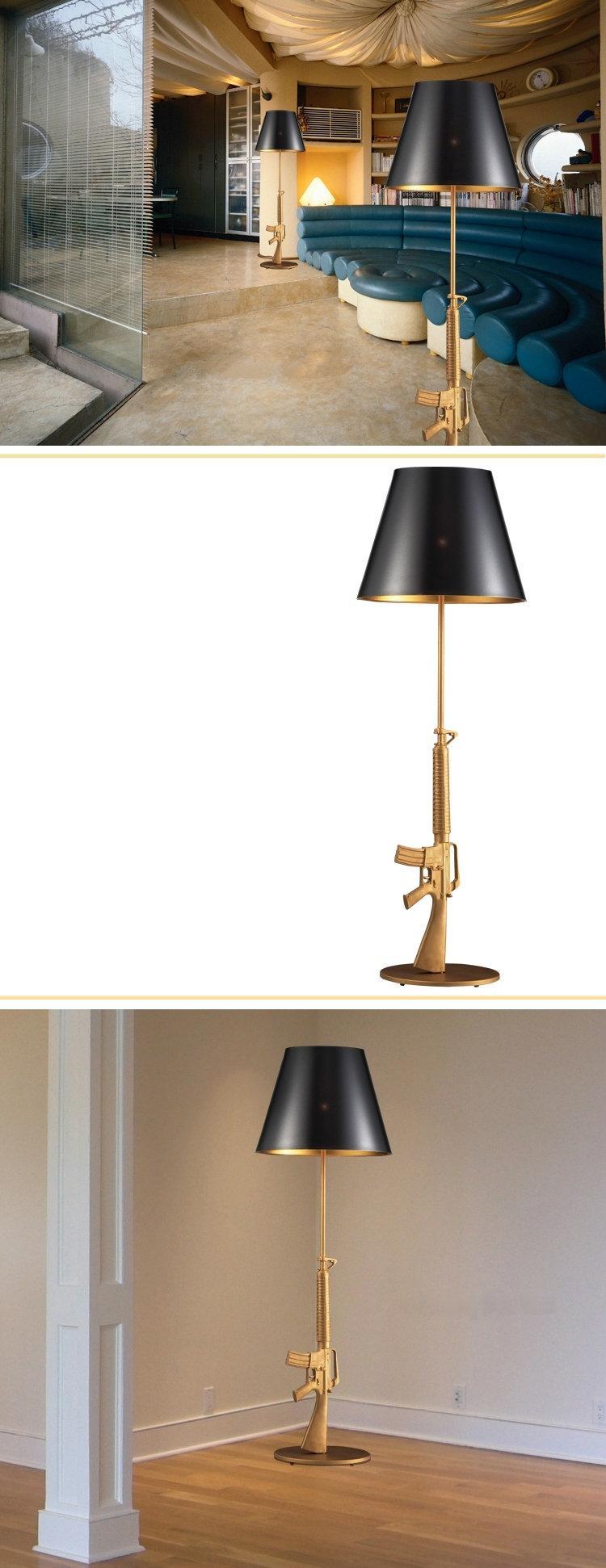 Grosshandel Italien Flos Gun Stehleuchte Moderne Philippe Starck