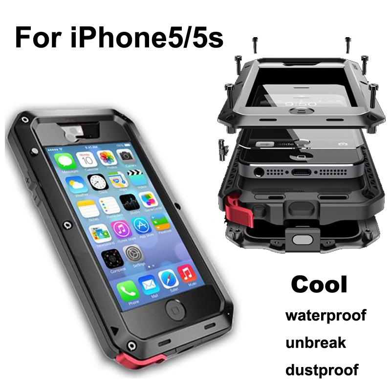 hot sale online b8dc2 44836 2015 Best Dustproof Waterproof Shockproof Drop Resistance Mobile Phone  Shell Cases Cover Protective Shell For Iphone 5/5S Custom Cell Phone Cases  ...