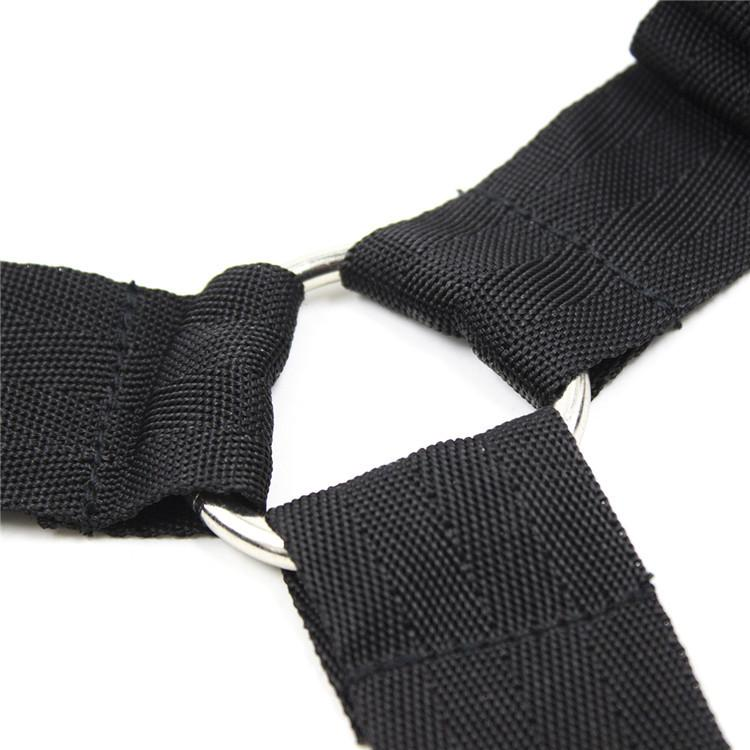 Cama de retenção pulso adulto bondage casal restrições quarto harness tornozelo sexo sob para produto nylon cinto owrqp