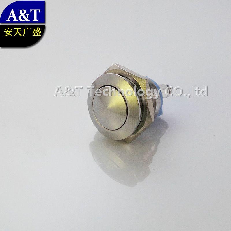 미세 금속 초인종 푸시 작은 16mm 6V 12V 250V IP67 방수 밀봉 파손 방지 순간 푸시 버튼 스위치의 단자 나사