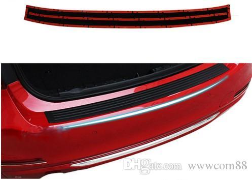 For Chevrolet Cruze Trax Captiva Aveo Malibu Lacetti Car Black New Rubber Rear Guard Bumper Protector Trim Covers Accessories