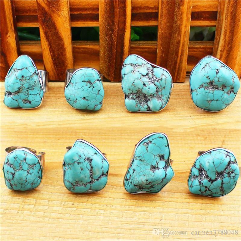 Cute tortoise gemstones rings blue gemstone multi designs natural ...