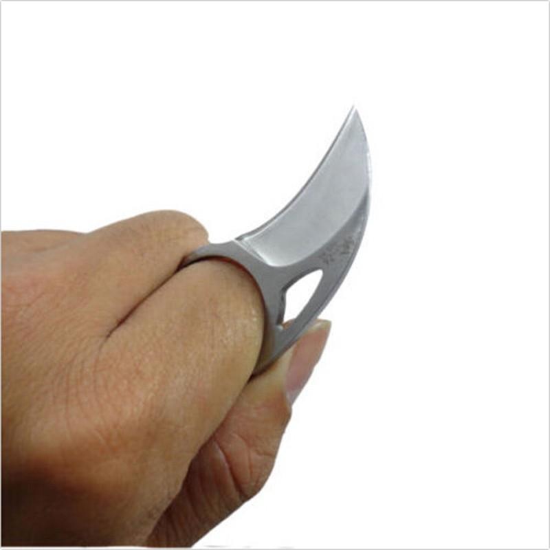 Custom-Handmade-Combat-Tactical-Claw-Karambit-Ring-3-Knife-Card-knife-credit-card-knife-Leather-Sheath (3)