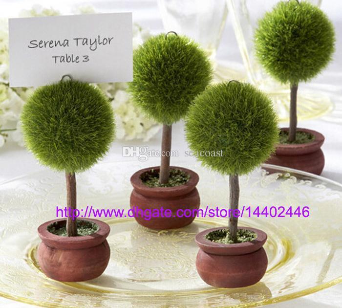 la boda libre del envo favorece las plantas potted del verde del regalo de las plantas
