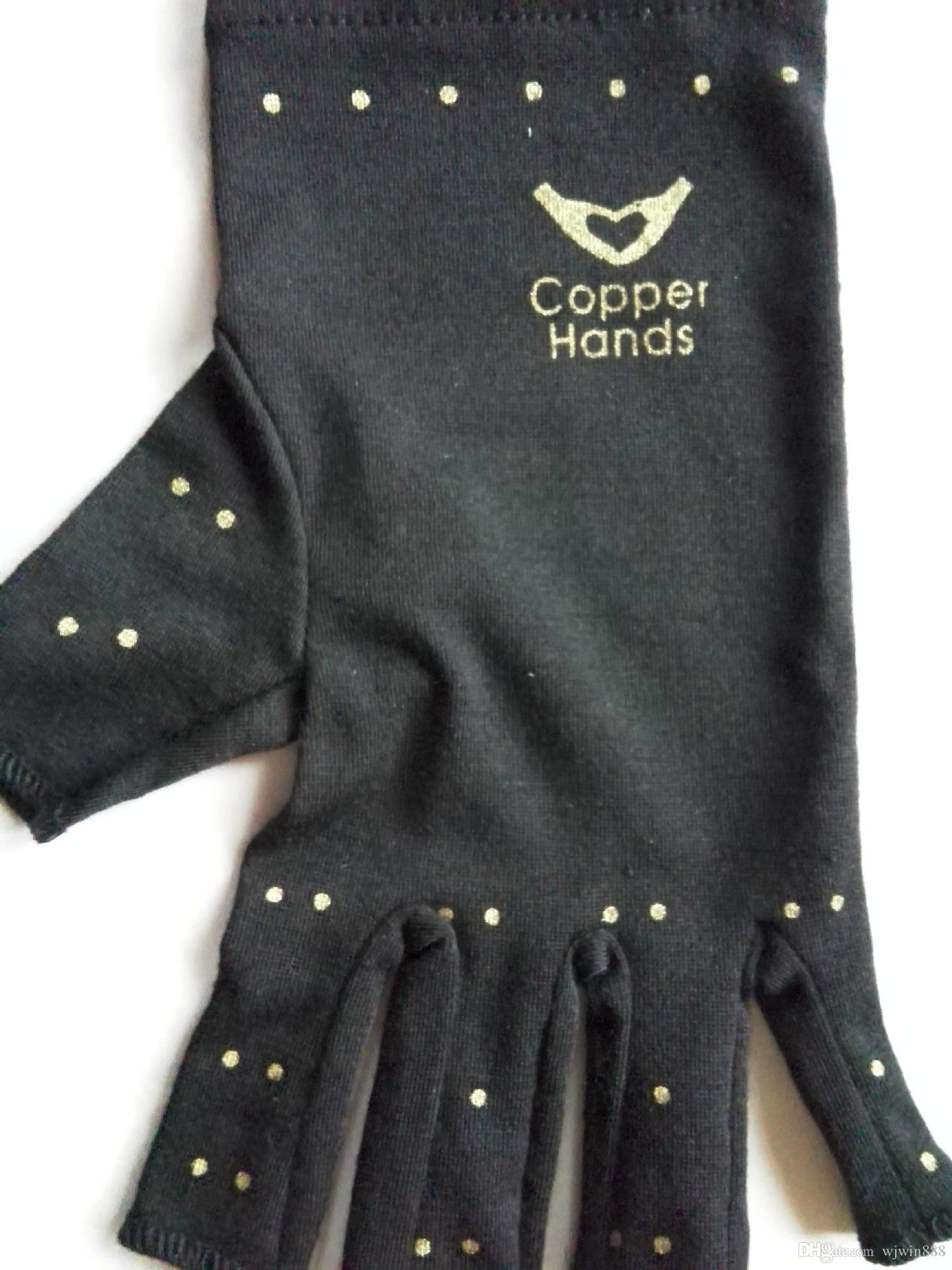 Driving gloves carpal tunnel - 2017 Custom Design Print Logo Compression Gloves Infused With Copper For Arthritis Carpal Tunnel And Muscle Or Joint Pain For Men And Women From Wjwin888