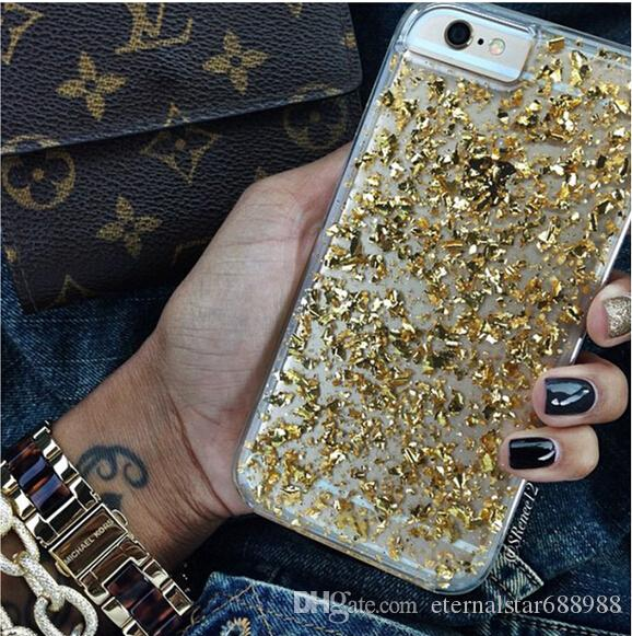 brand new 80b43 1e20b Karat Case Gold Leaf Iphone 6 Plus Case Glitter Case Iphone 7s Iphone 6  Case Fast Drop Shipping Cell Phone Case Wholesale Clear Cell Phone Cases  From ...