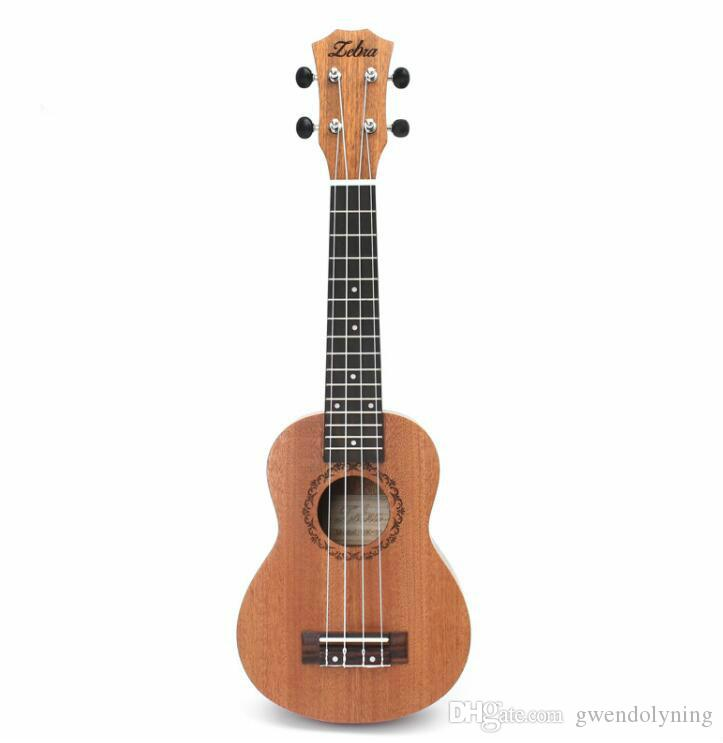 21 inch 15 Frets Mahogany Soprano Ukulele Guitar Uke Sapele Rosewood 4 Strings Hawaiian Guitar Musical Instruments For Beginners