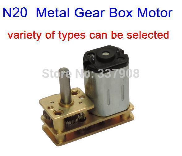 N20 DC3-12V 5-800RPM 마이크로 기어 모터, 메탈 기어 박스, 저속 모터, 플립형 기어 모터 특수 호텔 도어록