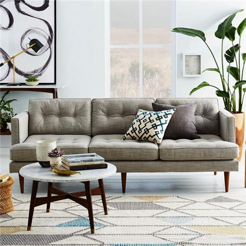 2019 Feibo Neo Classical Post Modern Wood Furniture Living Room Furniture  Custom Three Seat Sofa Fabric Sofa From Xwt5242, $941.27 | DHgate.Com