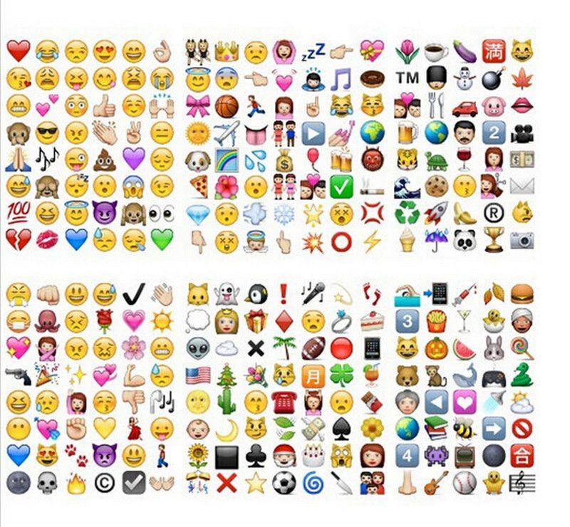 Compre Hd Emoji Adesivo Pacote 912 Die Cut Adesivos Iphone Instagram Twitter 20 Folhas 10 Conjunto Emj004 De Beautykid 8 7 Pt Dhgate Com