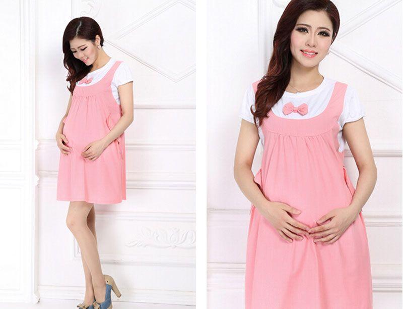 Compre Vestido De Maternidad De Verano 2015 Ropa De Arco Para Embarazadas Ropa De Embarazo Feida A 1871 Del Tai03 Dhgatecom
