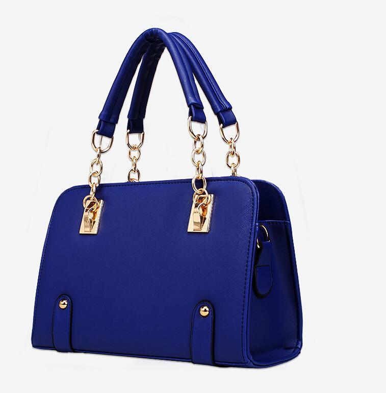 2015 Hot Selling Fashion Women Lady Retro PU Leather Handbags Crossbody Shoulder Bags Ladies Messenger Hobo Bag Free Shipping