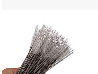 1500pcs stainless steel wire cleaning brush straws cleaning cleaning brush bottles brush Free shipping