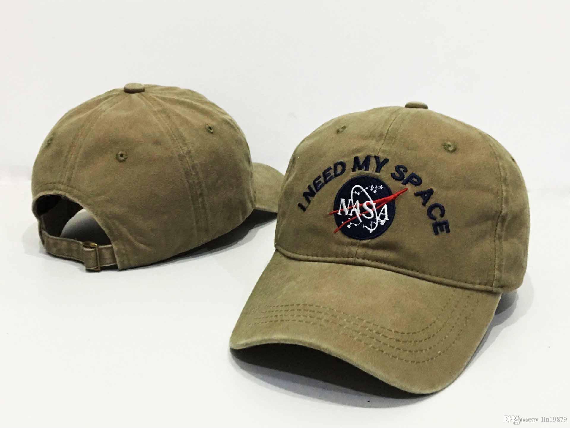 Оптовая кости мужчины женщины НАСА мне нужно мое пространство 6 панель Snapback шапки мода хип-хоп Casquette Горра бейсболки Strapback
