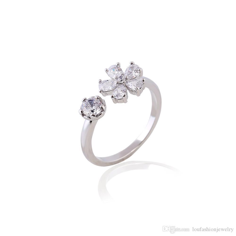 Штраф палец кольцо myjewelry циркония кольца для женщин мода большие кольца для женщин Кристалл кольцо ZR240