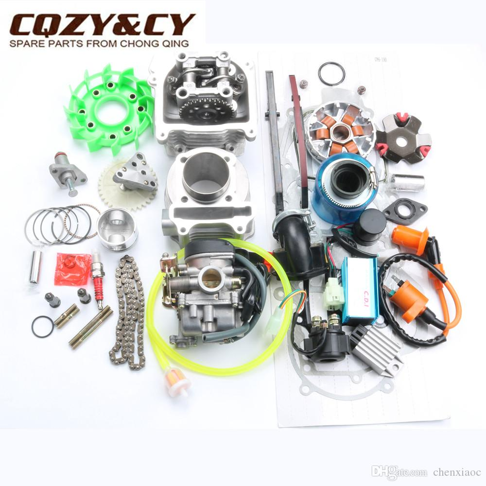 For GY6 100cc 139QMB Scooter Engine 4T 50mm Big Bore Cylinder Kit US Shipping