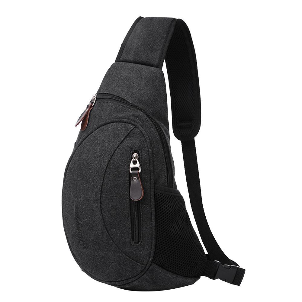 Cross Body Sling Bag Shoulder Outdoor Sport Chest Backpack Travel Hiking Camping