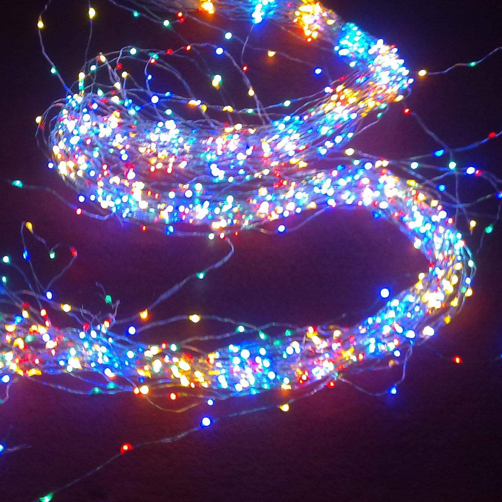 venta al por mayor accin de los eeuu navidad vacaciones luces de iluminacin al aire libre alambre de cobre con lmpara m led luz de la cadena
