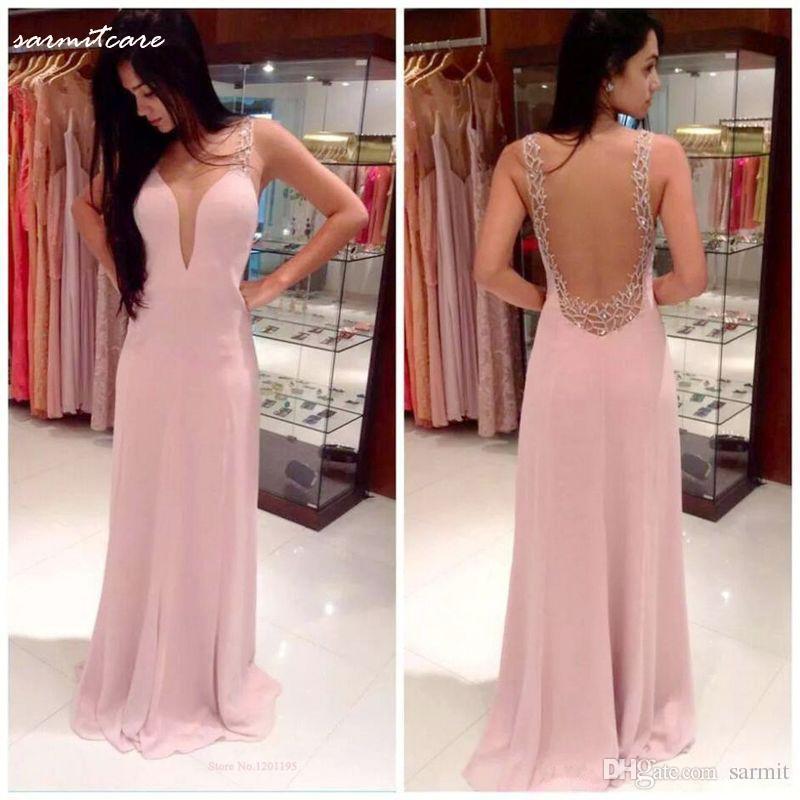 W009 gratis verzending 2016 nieuwe mode roze vrouwen avondjurken vestidos de festa vestido longo jurk feestavond elegant