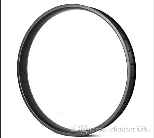 New Arrival High Quality 80mm width Hookless Double Wall Wheel for 26inch Fat Bicycle 25mm Depth Spoke Holes 32/36/64h Snow Rims