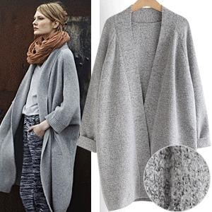Collection Womens Long Cardigan Sweater Coat Pictures - Reikian