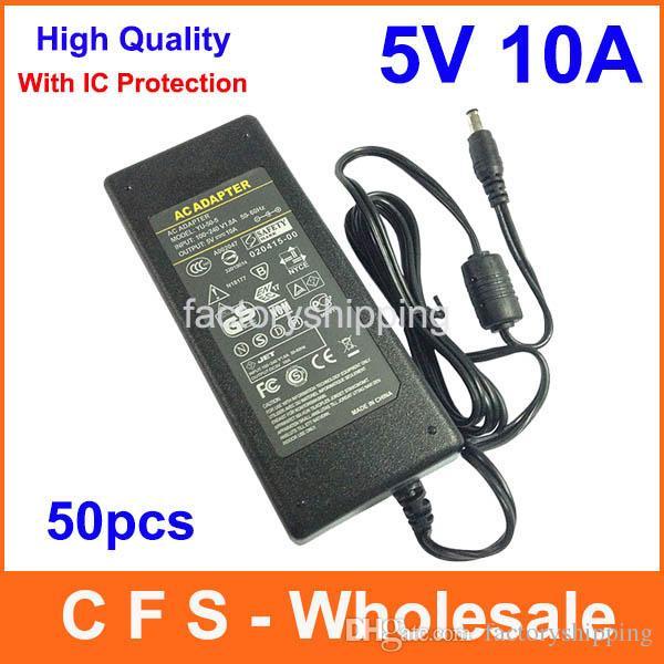 Adattatore 5 V 50 W Adattatore 5 V 50 W Adattatore AC DC 5 V 10A Fedex Spedizione gratuita Alta qualità