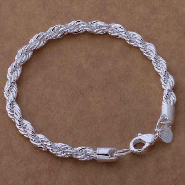 Rembrandt Sterling Silver Quinceanera Charm on a Sterling Silver Rope Chain Necklace