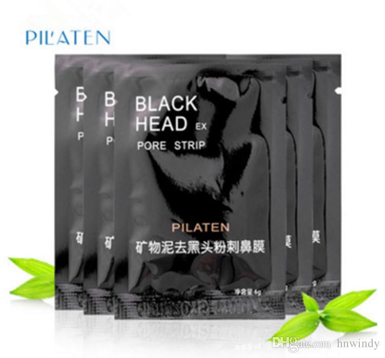 PILATEN Masque Noir Nettoyant Profond Comédons Comédons Acné Visage Masque Purifiante Rétrécissement Pores Soins de La Peau dreopshipping