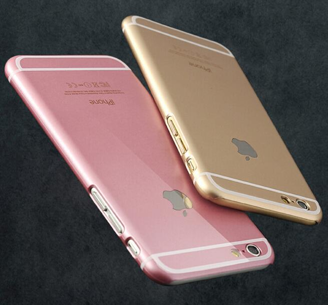 pretty nice ed47c 9197c Rose Gold Ultra Thin Luxury 6s Matte PC Hard Full Cover Case For Iphone 6  6s Plus 4 4s 5 5s Make Your Own Phone Case Cell Phone Cases From So_good,  ...