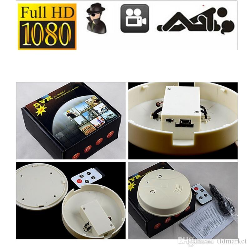 Mini Hd Dvr Spy Hidden Camera Smoke Detector Motion Detection