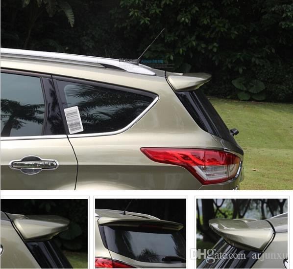 NEW High Quality! Car COLOR PAINT Rear Trunk Spoiler Wing Spoiler Rear Diffuser (1PCS) For Ford Kuga 2013-2014 Shipping