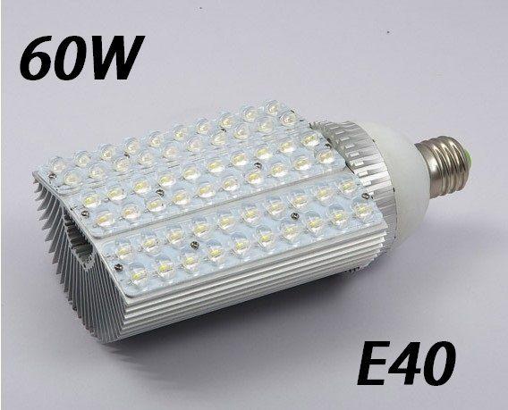 Por DHL, FEDEX, garantia de 2 anos, 60 W de Alta Potência LEVOU Holofote, conduziu a lâmpada Ao Ar Livre, levou luz de Rua