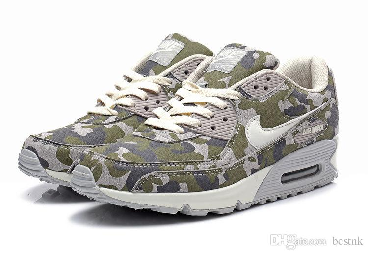 50% ceny tanie trampki online tutaj Nike Air Max 90 Men In Camouflage Military Running Shoes, Outdoor Shoes  Brand New Airmax Maxes Max90 Size: 40 45 Stability Running Shoes Running  Shoes ...