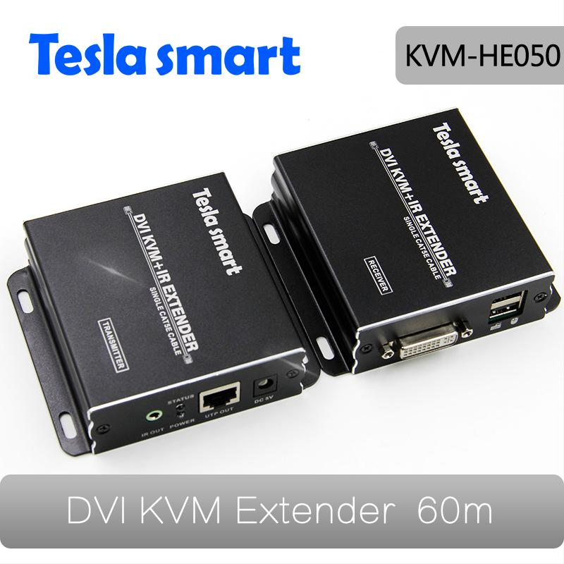 IR Remote TX RX 60m HDMI Extender over UTP cable CAT5e x1 support Auto EDID, 1080P, Remote Power on/off PC