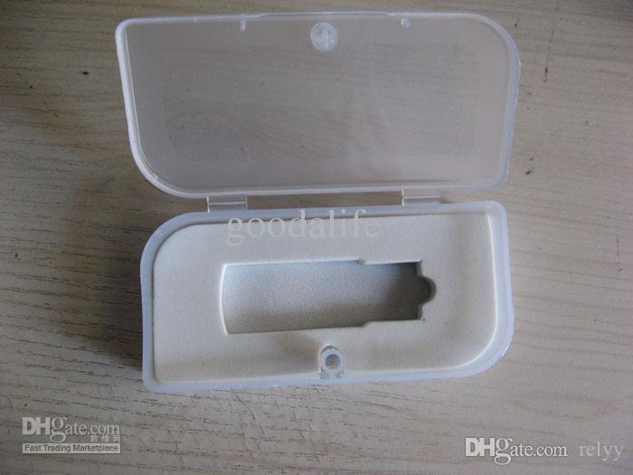 10PCS 환경 보호 투명한 선물 상자 PP 포장 크기 45x95x22MM 직사각형 USB 상자 플라스틱 포장 상자