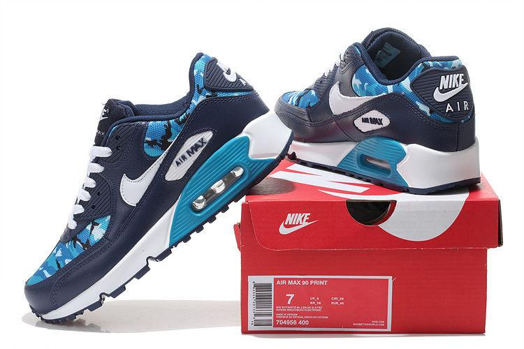 Nike Air Max 90 HYP PRM Hyperfuse Navy Men Running Shoes, Brand New Airmax Maxes Max90 Size 40 44 Shoes Shop Free Shoes From Bestnk, $51.78|
